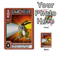 Monster Rancher 4 By Joe Rowland Hotmail Co Uk   Multi Purpose Cards (rectangle)   1yhtwb223sl7   Www Artscow Com Front 51