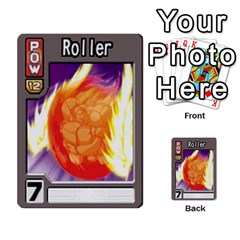 Monster Rancher 4 By Joe Rowland Hotmail Co Uk   Multi Purpose Cards (rectangle)   1yhtwb223sl7   Www Artscow Com Front 7