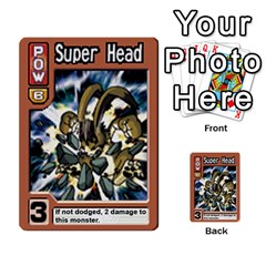 Monster Rancher 4 By Joe Rowland Hotmail Co Uk   Multi Purpose Cards (rectangle)   1yhtwb223sl7   Www Artscow Com Front 8