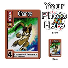 Monster Rancher 4 By Joe Rowland Hotmail Co Uk   Multi Purpose Cards (rectangle)   1yhtwb223sl7   Www Artscow Com Front 38