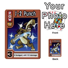 Monster Rancher 4 By Joe Rowland Hotmail Co Uk   Multi Purpose Cards (rectangle)   1yhtwb223sl7   Www Artscow Com Front 43