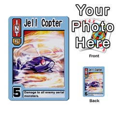 Monster Rancher 5 By Joe Rowland Hotmail Co Uk   Multi Purpose Cards (rectangle)   S02n31tusmst   Www Artscow Com Front 14
