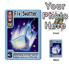 Monster Rancher 5 By Joe Rowland Hotmail Co Uk   Multi Purpose Cards (rectangle)   S02n31tusmst   Www Artscow Com Front 17