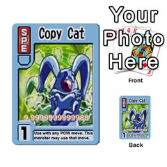 Monster Rancher 5 By Joe Rowland Hotmail Co Uk   Multi Purpose Cards (rectangle)   S02n31tusmst   Www Artscow Com Front 18