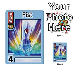 Monster Rancher 5 By Joe Rowland Hotmail Co Uk   Multi Purpose Cards (rectangle)   S02n31tusmst   Www Artscow Com Front 20