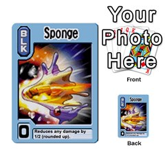 Monster Rancher 5 By Joe Rowland Hotmail Co Uk   Multi Purpose Cards (rectangle)   S02n31tusmst   Www Artscow Com Front 5