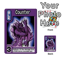 Monster Rancher 5 By Joe Rowland Hotmail Co Uk   Multi Purpose Cards (rectangle)   S02n31tusmst   Www Artscow Com Front 49