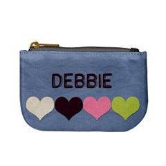 Debbie Inifinity Change Purse By Patricia W   Mini Coin Purse   Czka32v9k4yd   Www Artscow Com Front