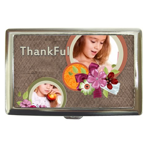 Thankful By Joely   Cigarette Money Case   Izdgciv5qjln   Www Artscow Com Front