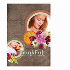 Thankful By Joely   Small Garden Flag (two Sides)   Fcix7vgp3kwo   Www Artscow Com Front