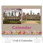Pretty as a picture Wall Calendar 11x8.5 - Wall Calendar 11  x 8.5  (12-Months)