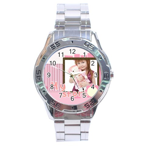 My Store By Jo Jo   Stainless Steel Analogue Watch   51fi02xnh8m1   Www Artscow Com Front