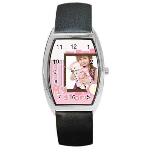 My Store By Jo Jo   Barrel Style Metal Watch   O9krjt7a7tiv   Www Artscow Com Front