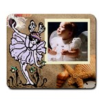 Princess fairy Large mouse pad - Large Mousepad
