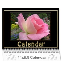 My Black And Gold  Wall Calendar 11x8 5 By Deborah   Wall Calendar 11  X 8 5  (12 Months)   2z4kb1bscg6y   Www Artscow Com Cover