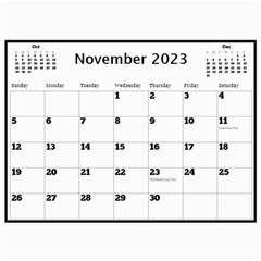 My Black And Gold  Wall Calendar 11x8 5 By Deborah   Wall Calendar 11  X 8 5  (12 Months)   2z4kb1bscg6y   Www Artscow Com Nov 2017