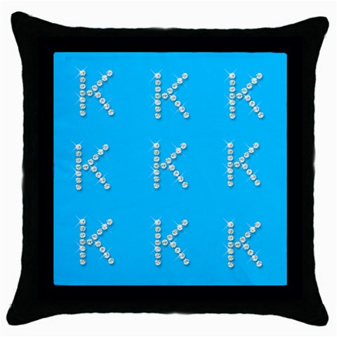 Katie5 By Sherri Goldstein   Throw Pillow Case (black)   F8v8xpkg03uc   Www Artscow Com Front
