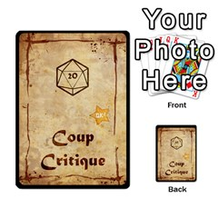 Deck Dk2 By Yoyo   Multi Purpose Cards (rectangle)   Uagp0hnwk54y   Www Artscow Com Back 7