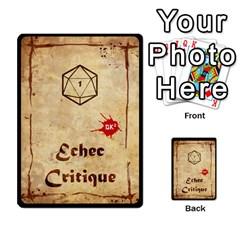 Deck Dk2 By Yoyo   Multi Purpose Cards (rectangle)   Uagp0hnwk54y   Www Artscow Com Back 25