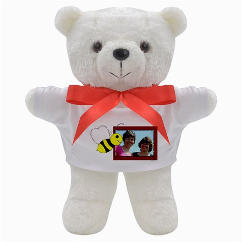 Friendship Bee And Bear By Patricia W   Teddy Bear   Be6fccs26vp5   Www Artscow Com Front
