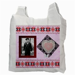 Tribute To Dad By Maryanne   Recycle Bag (two Side)   Tsu7uva30ovt   Www Artscow Com Back