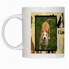 Love My Dog Mug By Suzie   White Mug   Te2q7gz9l5zx   Www Artscow Com Left