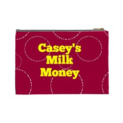 Milk Money Pouch By Patricia W   Cosmetic Bag (large)   Ndpra07aonnh   Www Artscow Com Back