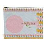 Summer Cooler Pink Cometic Bag - Cosmetic Bag (XL)
