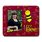 queen bee mouse pad - Large Mousepad