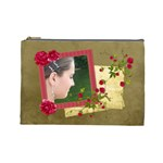 Shabby Rose - Cosmetic Bag (LG)  - Cosmetic Bag (Large)
