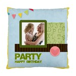 birthday party  - Standard Cushion Case (One Side)