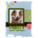 birthday party  - Apple iPad 2 Hardshell Case (Compatible with Smart Cover)