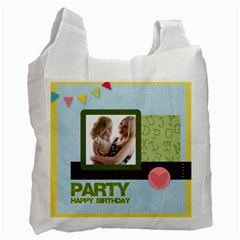 Birthday Party  By Joely   Recycle Bag (two Side)   Vs4d1hfx6lgp   Www Artscow Com Front