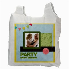 Birthday Party  By Joely   Recycle Bag (two Side)   Vs4d1hfx6lgp   Www Artscow Com Back