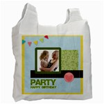 birthday party  - Recycle Bag (One Side)