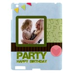 birthday party  - Apple iPad 3/4 Hardshell Case