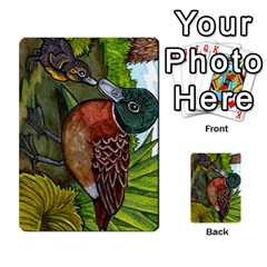New Zealand Naturally Collectible Cards 1 By Angela   Multi Purpose Cards (rectangle)   Gl2zeyhqcup4   Www Artscow Com Front 16