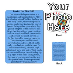 New Zealand Naturally Collectible Cards 1 By Angela   Multi Purpose Cards (rectangle)   Gl2zeyhqcup4   Www Artscow Com Back 32