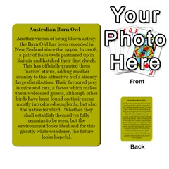 New Zealand Naturally Collectible Cards 1 By Angela   Multi Purpose Cards (rectangle)   Gl2zeyhqcup4   Www Artscow Com Back 44