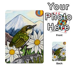 New Zealand Naturally Collectible Cards 1 By Angela   Multi Purpose Cards (rectangle)   Gl2zeyhqcup4   Www Artscow Com Front 47