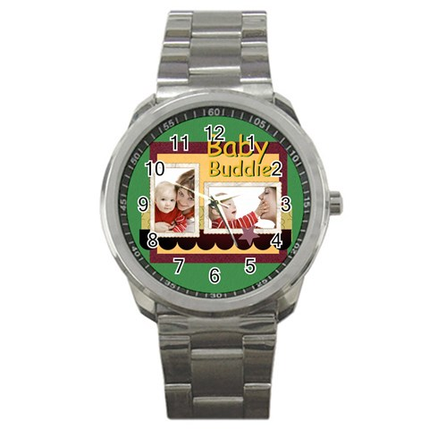 Baby By Joely   Sport Metal Watch   3exjattepamt   Www Artscow Com Front