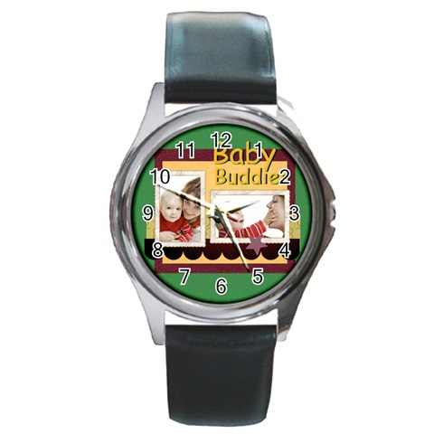 Baby By Joely   Round Metal Watch   Lhpkdr3p4z32   Www Artscow Com Front
