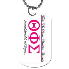 Tagg1 By Theta P Sigma   Dog Tag (two Sides)   Veyw0tcey5ml   Www Artscow Com Front