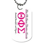 TAGG1 - Dog Tag (Two Sides)