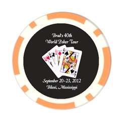 Poker Chip Card Hold Brads 40th By Pat Kirby   Poker Chip Card Guard (10 Pack)   P0jesv81p3p3   Www Artscow Com Front