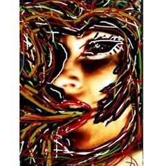 Me By Jessica   Greeting Card 4 5  X 6    Se2fexa384bk   Www Artscow Com Front Cover