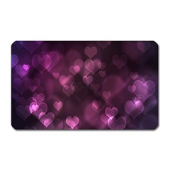 Purple Bokeh Large Sticker Magnet (Rectangle) by PurpleVIP