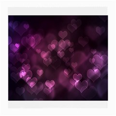 Purple Bokeh Single-sided Large Glasses Cleaning Cloth by PurpleVIP