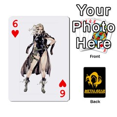 Poker Metal Gear Solid By Rubén   Playing Cards 54 Designs   2c1d1yzrab6z   Www Artscow Com Front - Heart6