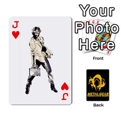 Jack Poker Metal Gear Solid By Rubén   Playing Cards 54 Designs   2c1d1yzrab6z   Www Artscow Com Front - HeartJ